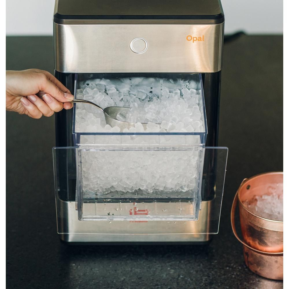 Firstbuild Opal 24 Lb Freestanding Nugget Ice Maker In Stainless
