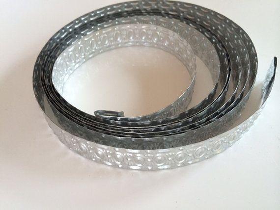 Metal Trim metal ribbon decorative metal silver by