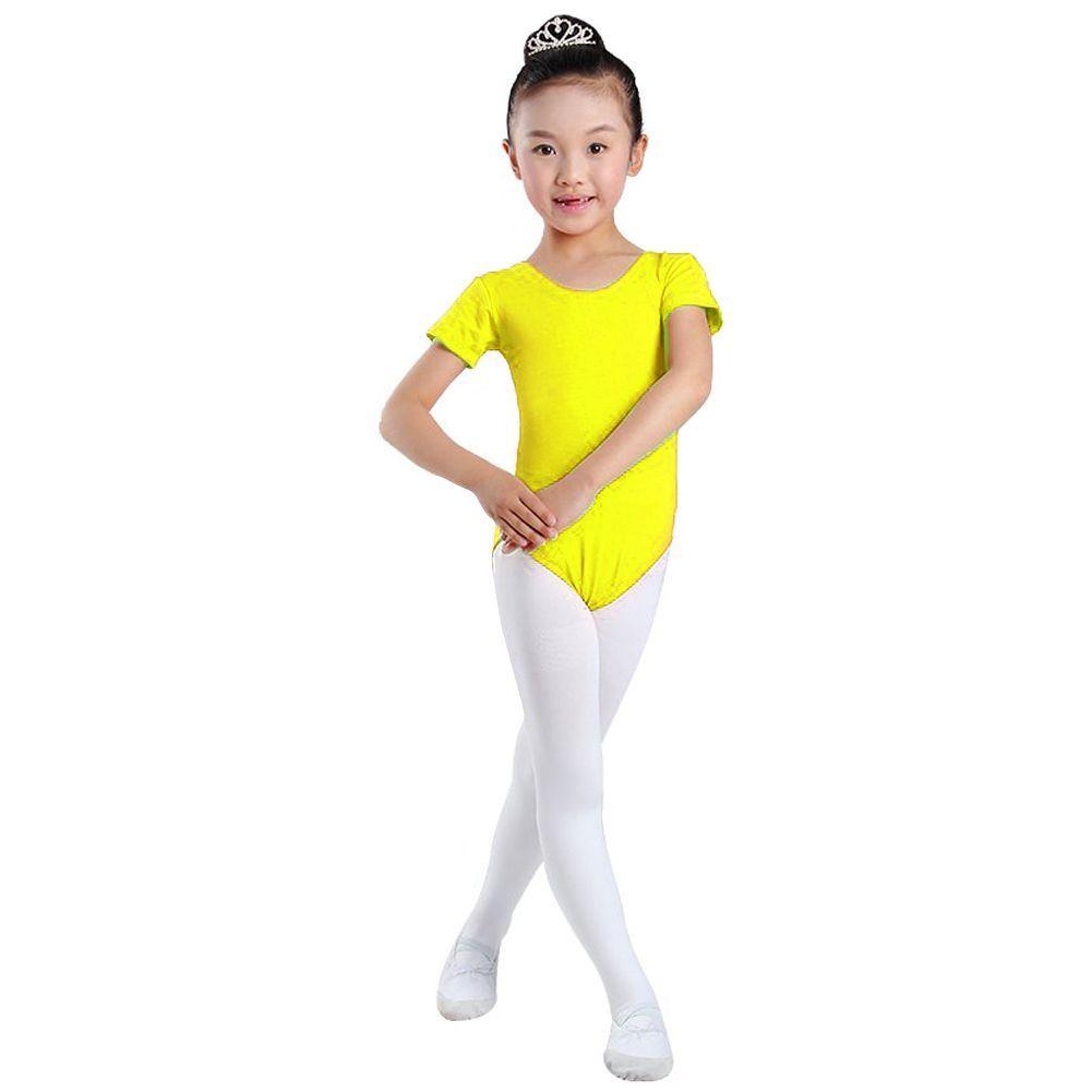 67c098ee1060 yellow dress toddler girl gymnastic leotards