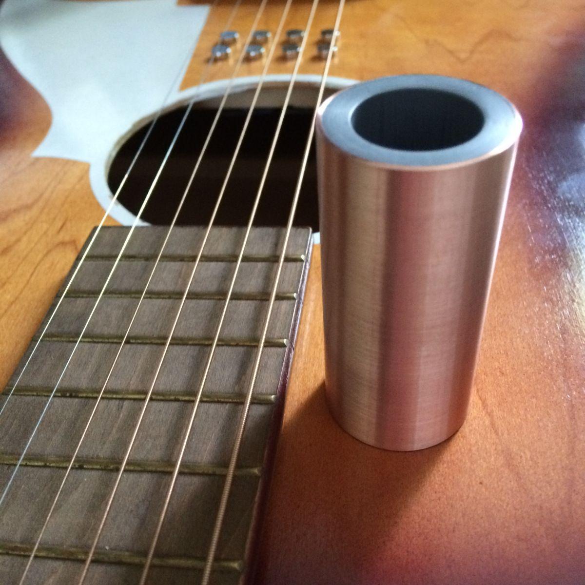 Jsa cu65 copper hybrid guitar slide for sale on ebay