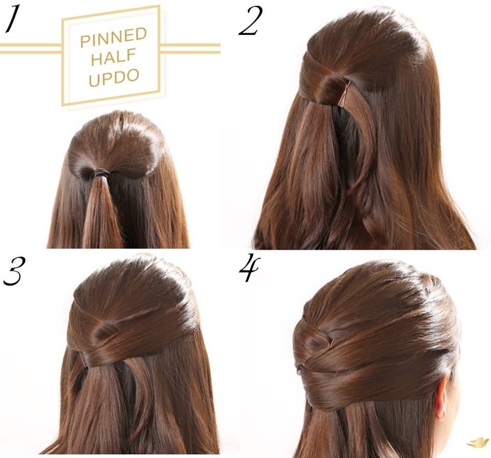easy half up hairstyle tutorials that every girl must try hair