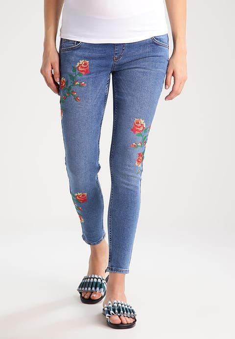Topshop Maternity JAMI - Jeans Skinny Fit - middenim - Zalando.de