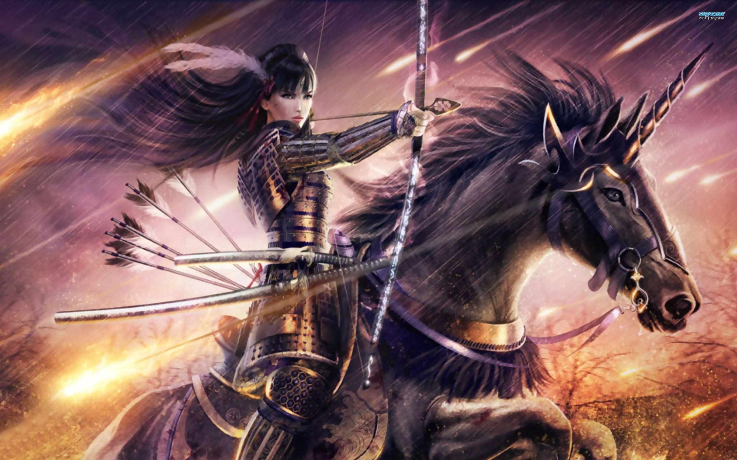 Archer exalted pinterest fantasy tattoos anime - Anime female warrior ...