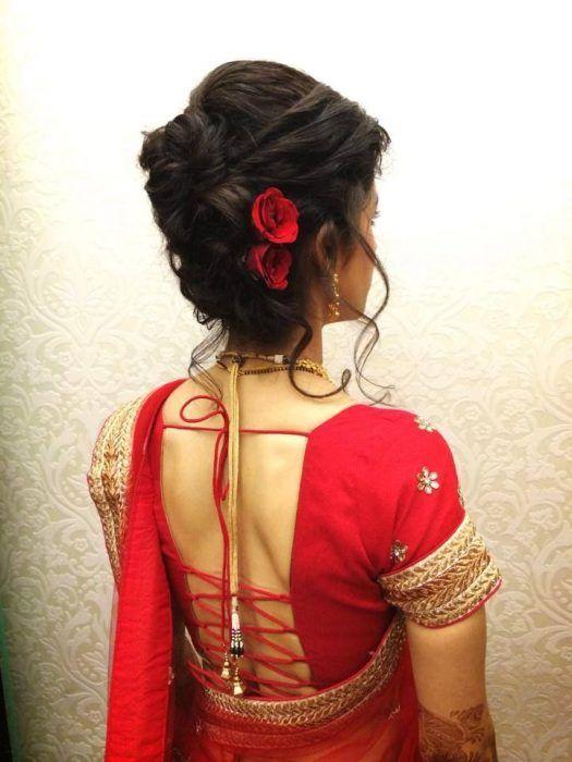 Indian Bridal Hairstyles For Short Hair India S Wedding Blog Hair Styles Indian Bridal Hairstyles Short Wedding Hair