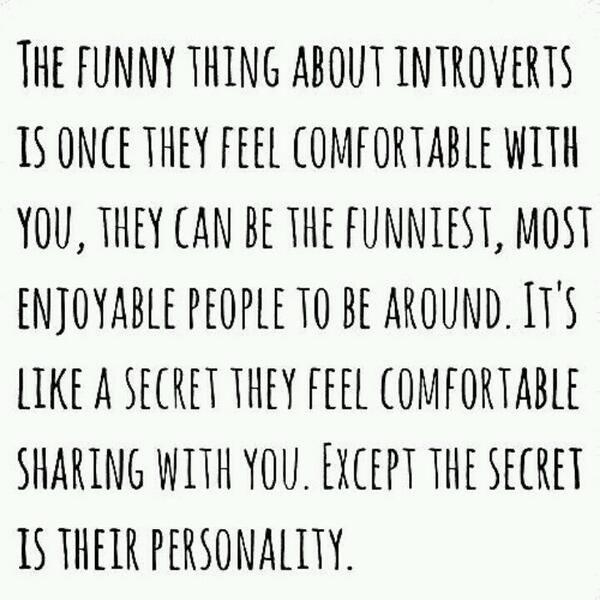 Introvert Life on Twitter