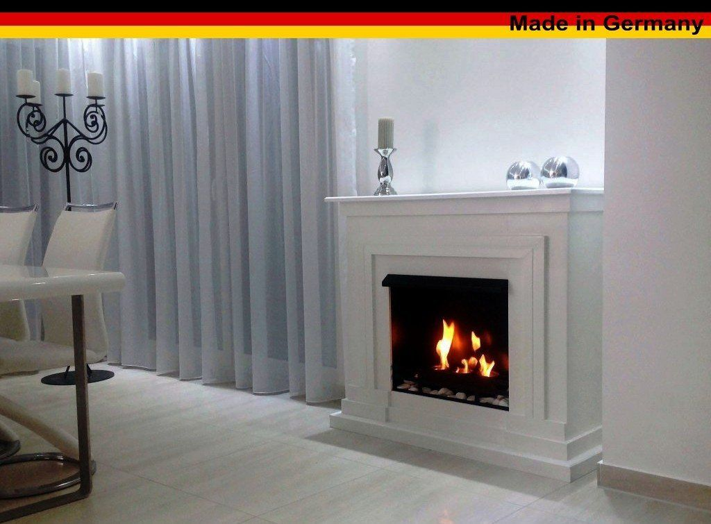 Shop Gel And Ethanol Fireplace Model 2013 With Accessories Berlin White  (German Import).