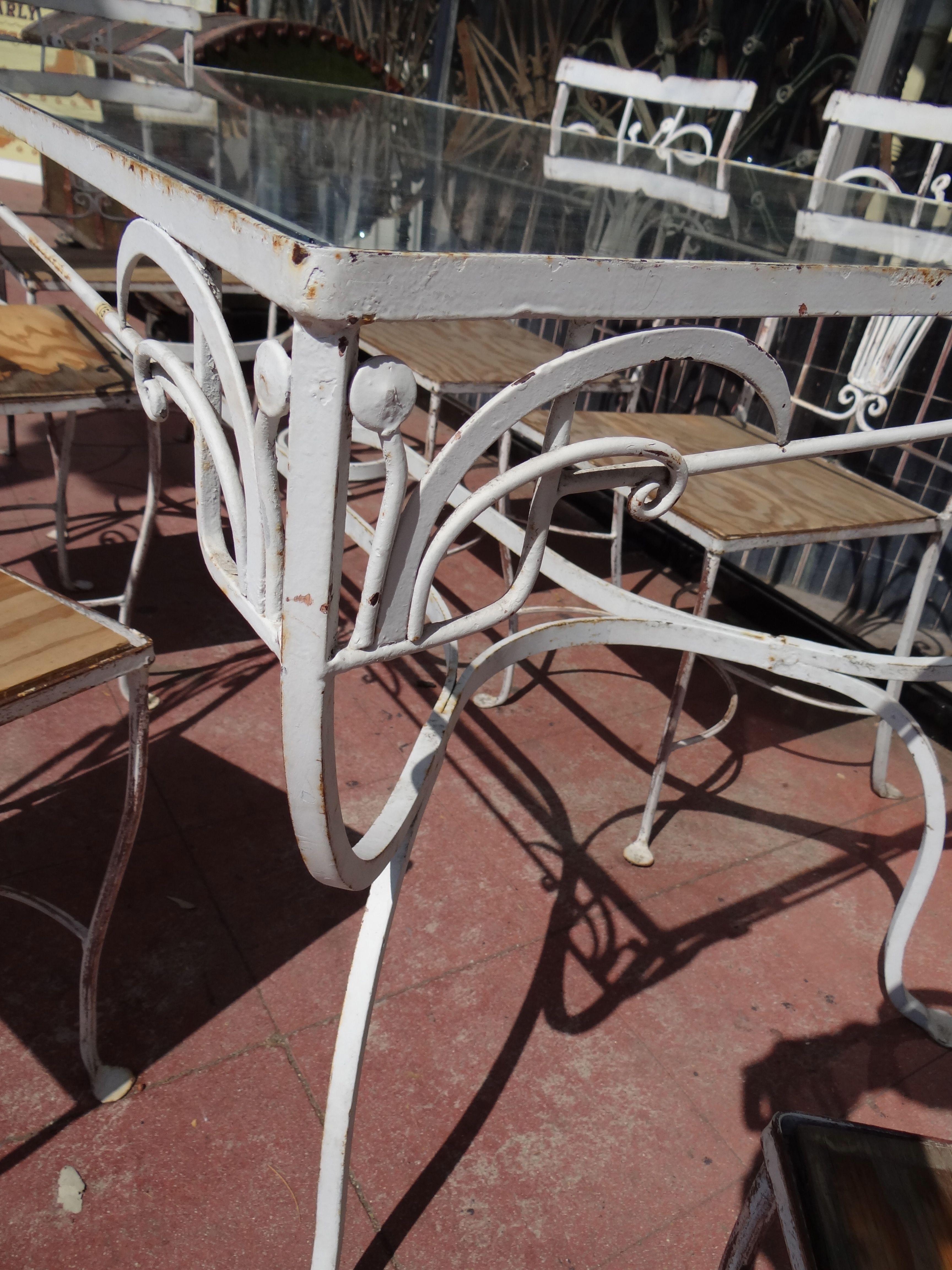 Salterini Patio Furniture Parts: Salterini Wrought Iron Furniture