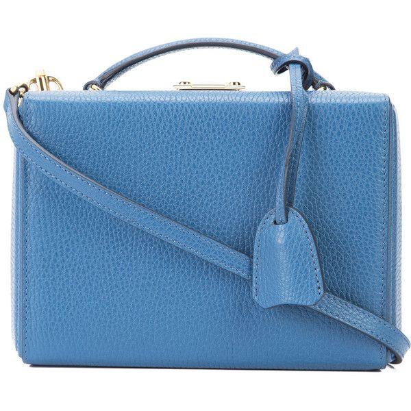 a28d143f4c09d Mark Cross Small  Grace Box  Crossbody Bag (60 180 UAH) ❤ liked on ...