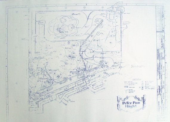 DisneyLand Peter Pan Ride Plan Blueprint Things I Didnu0027t Know I - new blueprint gene expression