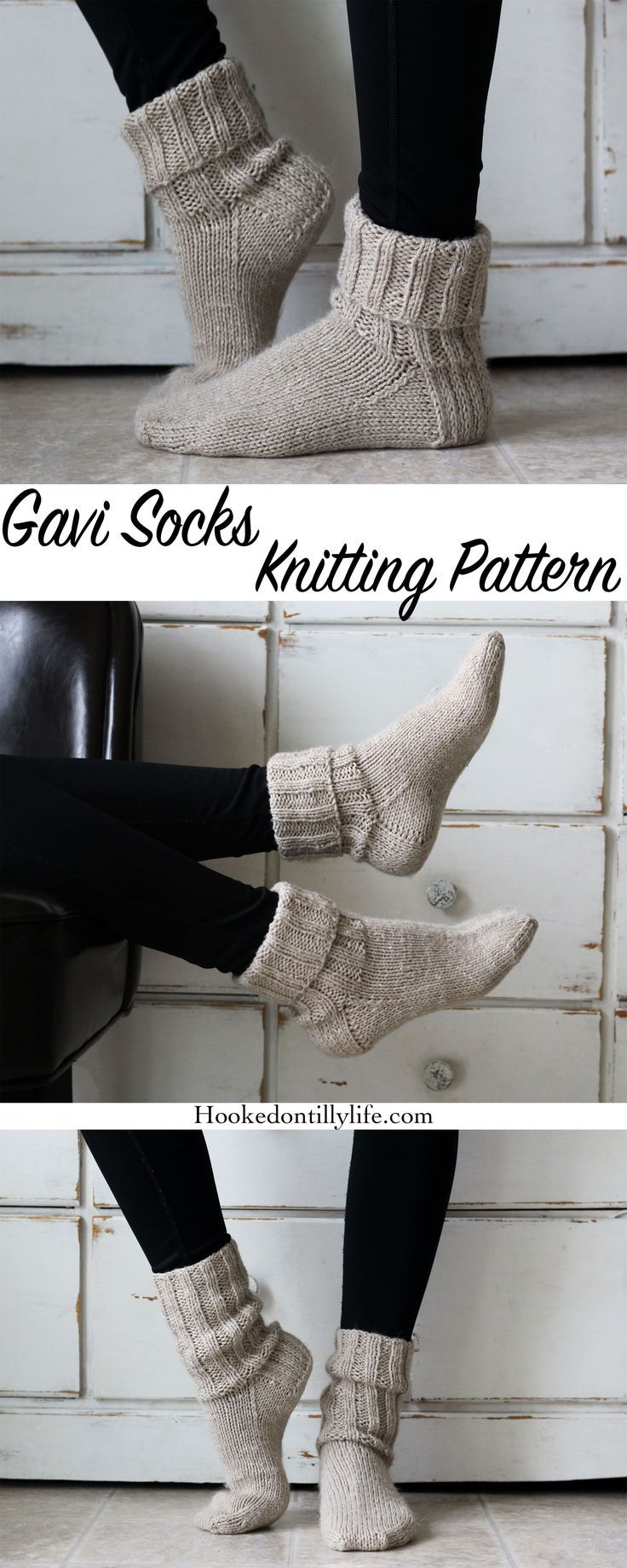 Gavi Socks Knitting Pattern — Hooked On Tilly