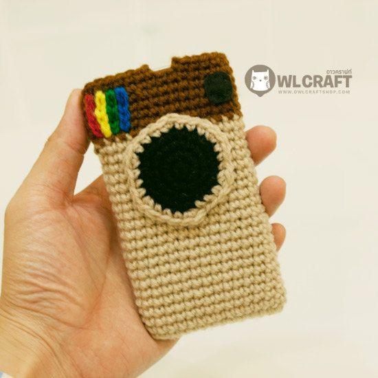 a440cbe04 Instagram iPhone iPod Crochet Handmade Case