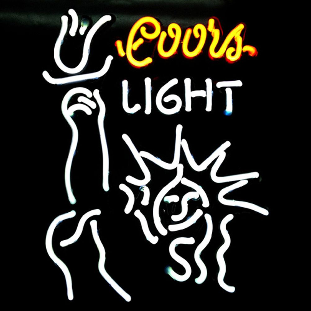 Coors Liberal Beer Bar Neon Sign///How I love you neon