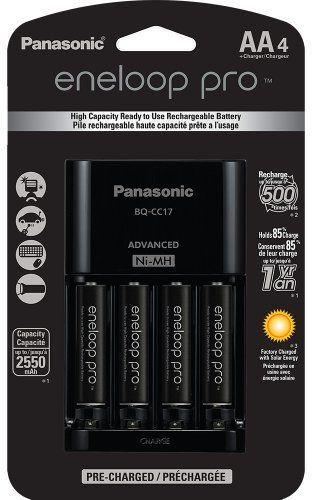 Eneloop Pro Batteries For My Speedlite Rechargeable Batteries Battery Charger Panasonic
