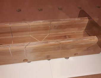 Gehrungslade Fur Japansage Gehrungslade Japansage Selber Bauen Japan Holz