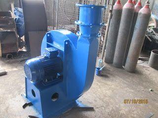Jual blower portable ventilator dust collector for Portable dust collector motor blower