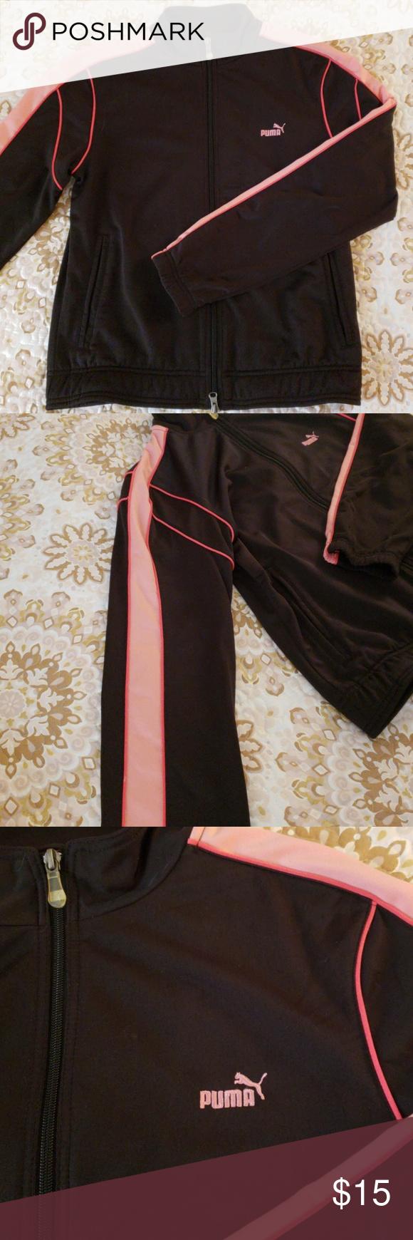 Puma track jacket in my posh picks pinterest jackets