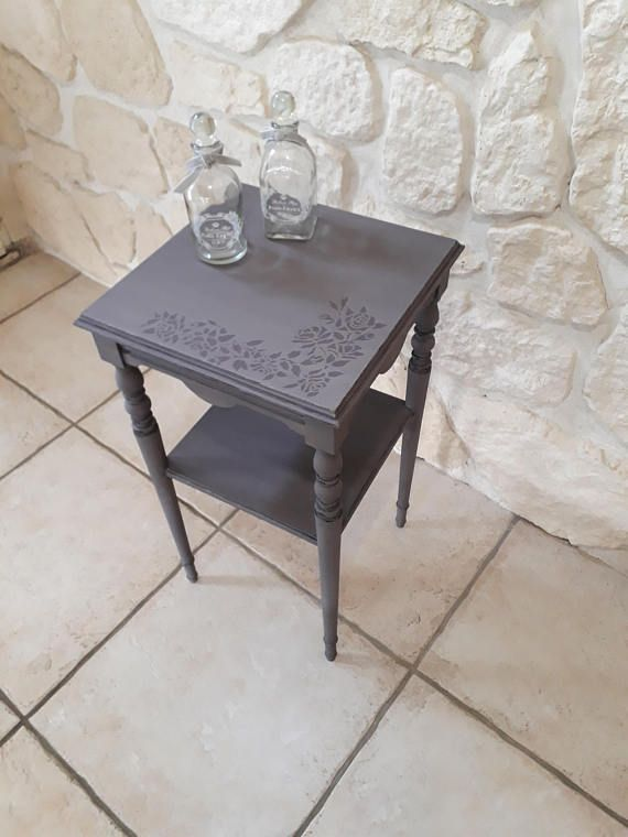 sellette gu ridon en bois patin l 39 ancienne abracadabra77france pinterest sellette bois. Black Bedroom Furniture Sets. Home Design Ideas
