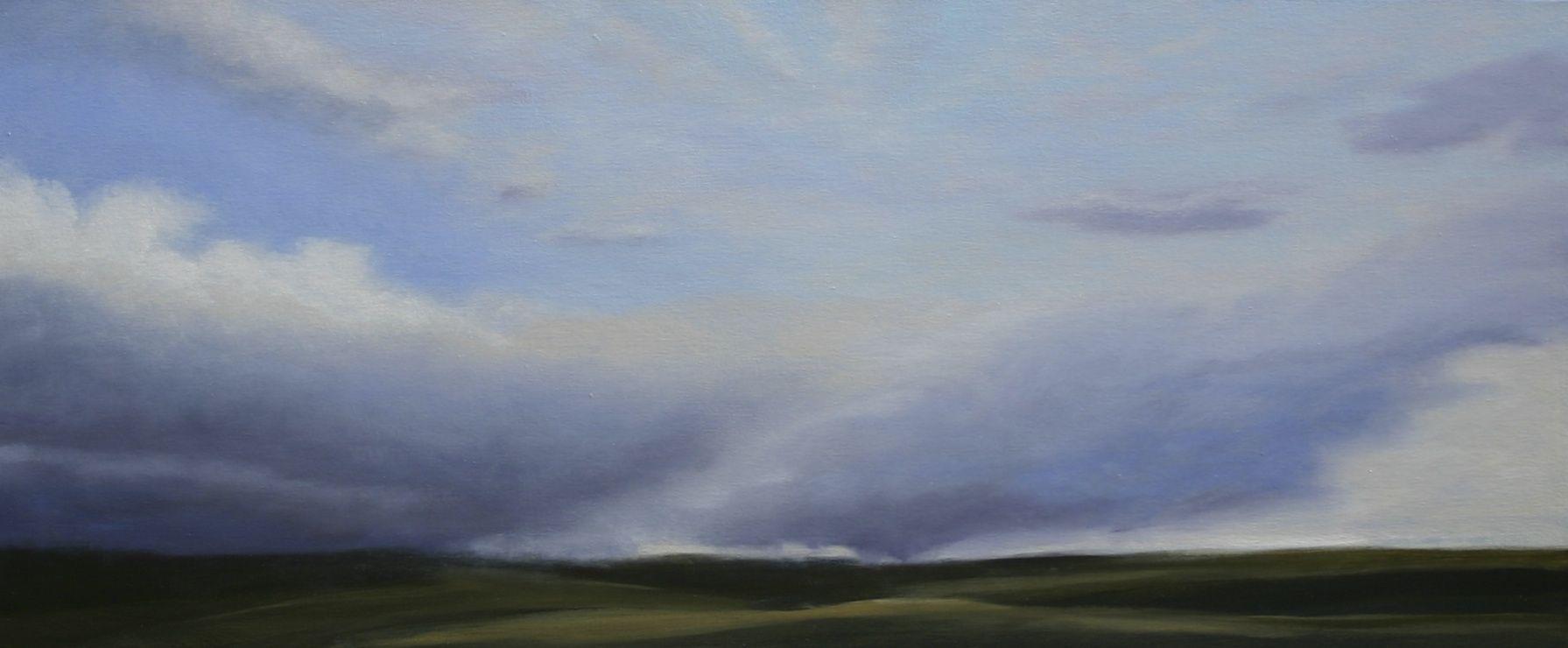 Slice of Heaven 30X72 oil on canvas Jamie Kirkland