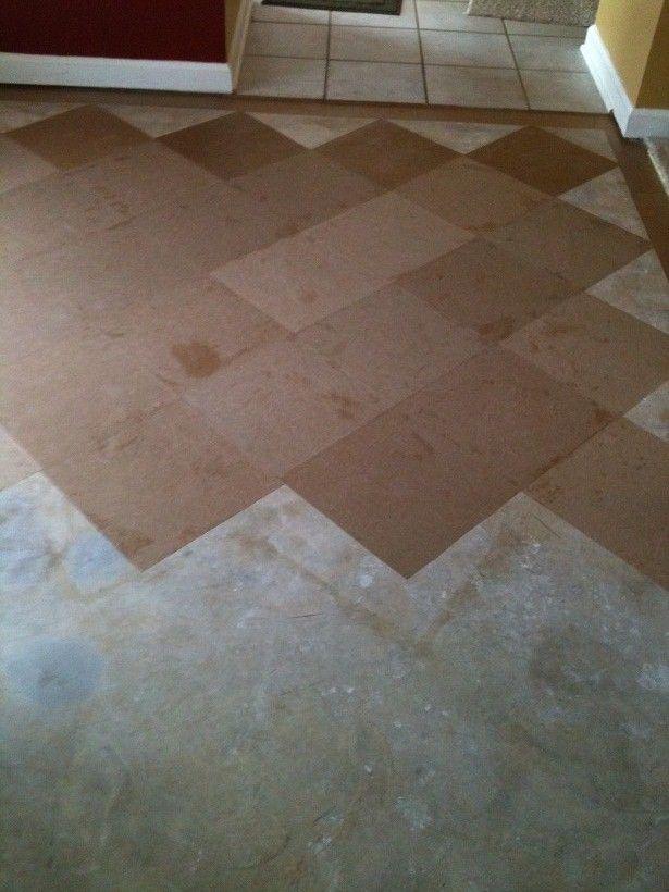 Brown Bag Floor Diy Home Paper Bag Flooring Brown Bag
