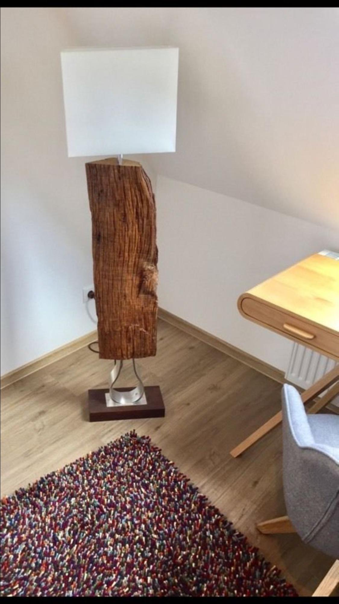 Pin Von Tore Jansen Auf Treibholz Lampe Unikat Holz Betonlampe