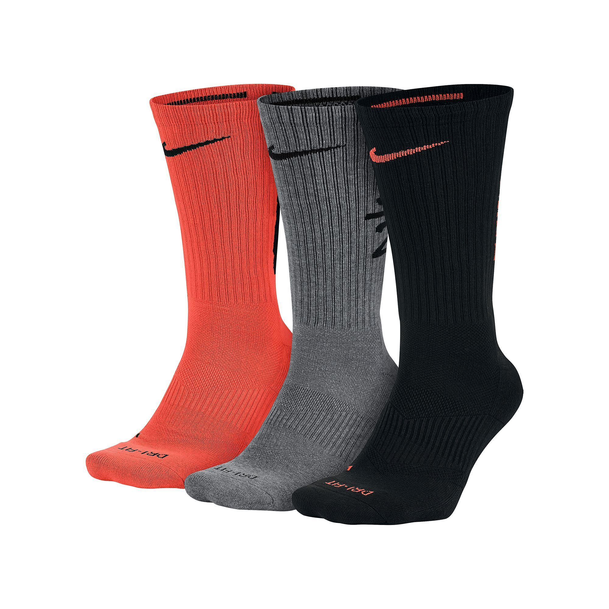 90a91ae7c1bae Men's Nike 3-pack Dri-Fit Fly V4 Crew Socks | Products | Crew socks ...