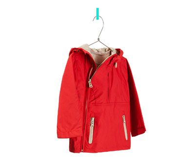 RAINCOAT WITH POUCH POCKET from Zara