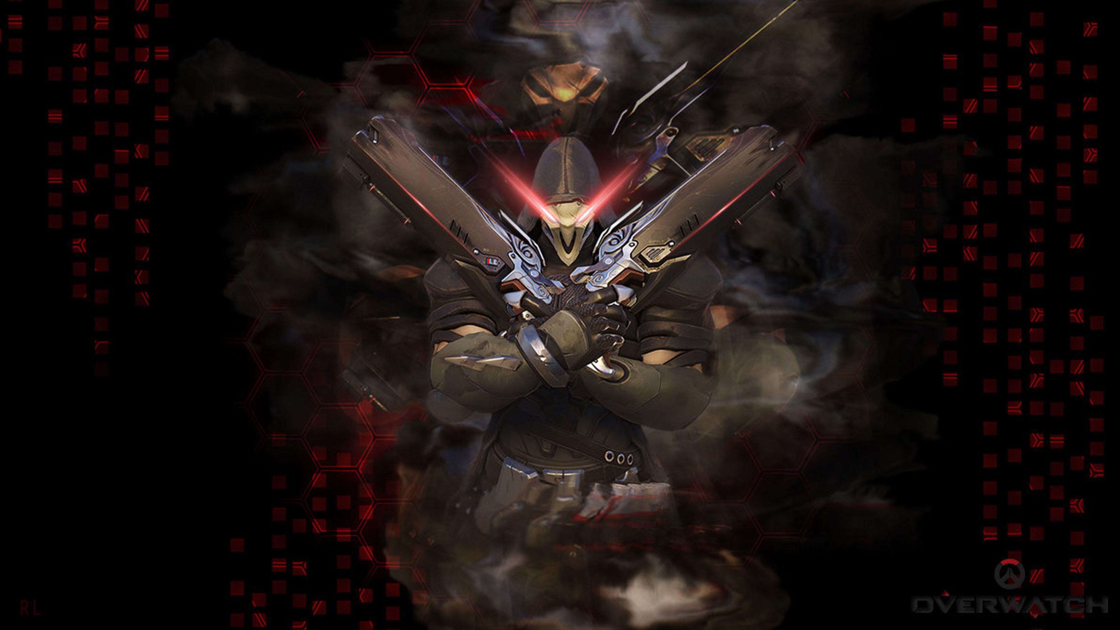 3840x2160 Overwatch 4k Wallpaper Overwatch Wallpapers Overwatch Reaper Overwatch