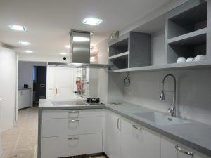Cocinas microcemento cocina pinterest microcemento cemento pulido y cemento - Cocina microcemento ...