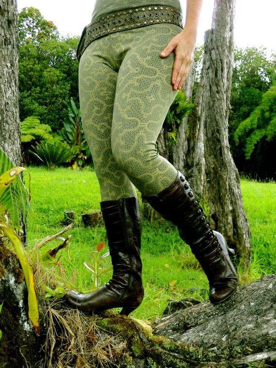 Organic cotton shipibo leggings
