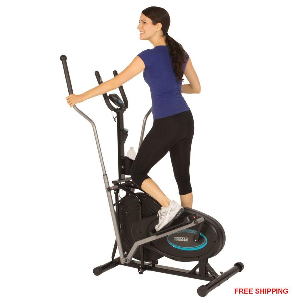 elliptical exercising machine