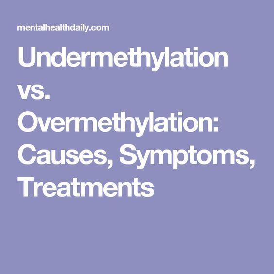 Undermethylation vs  Overmethylation: Causes, Symptoms, Treatments