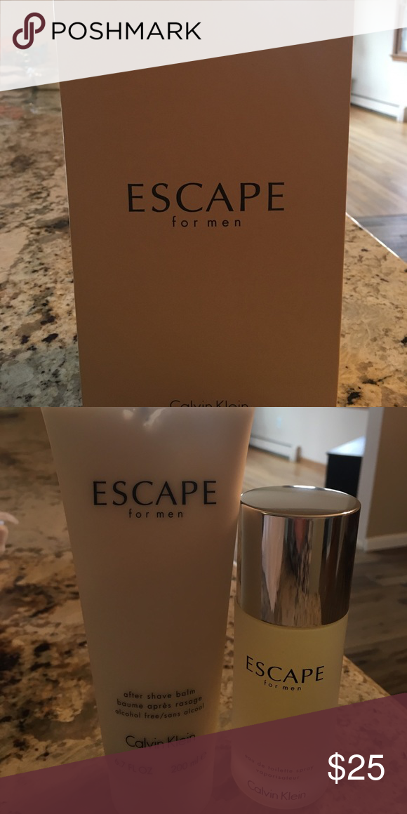 Escaped for men cologne & after shave New in box cologne is 3.4 ounces and lotion is 6.7 ounces Calvin Klein Other