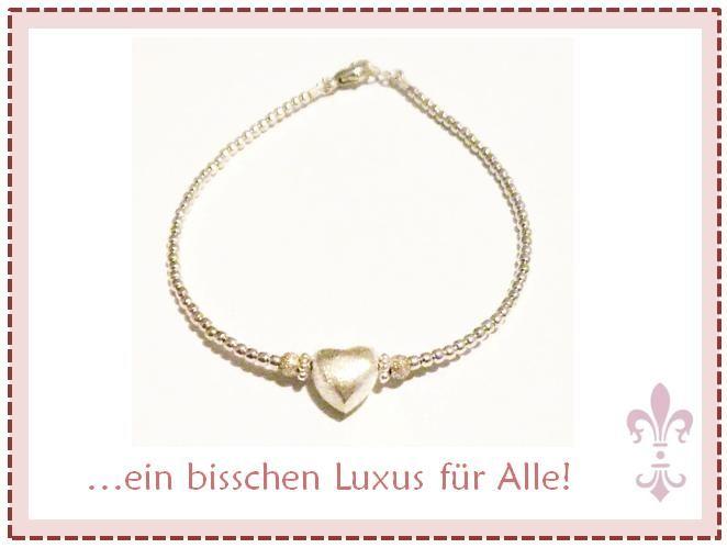 #Armband #silber #925 #Luxusperle #Stahlseide #stabil #Schmuck  www.luxusperle.de