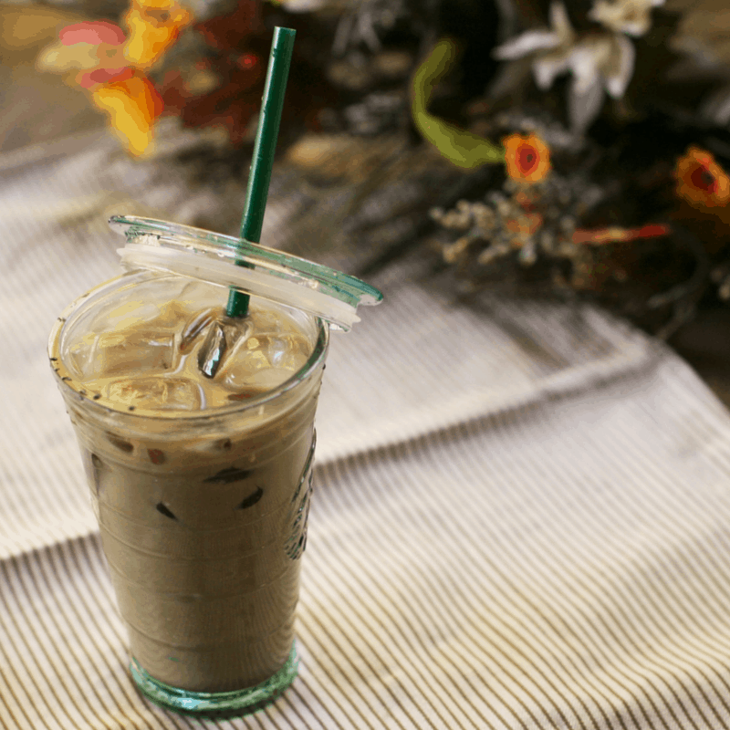 Cinnamon Dolce, Low Carb Iced