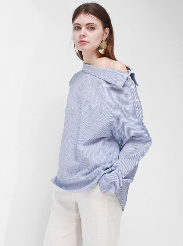 78e9998ab4 Rama Pajama Shirt from LOÉIL