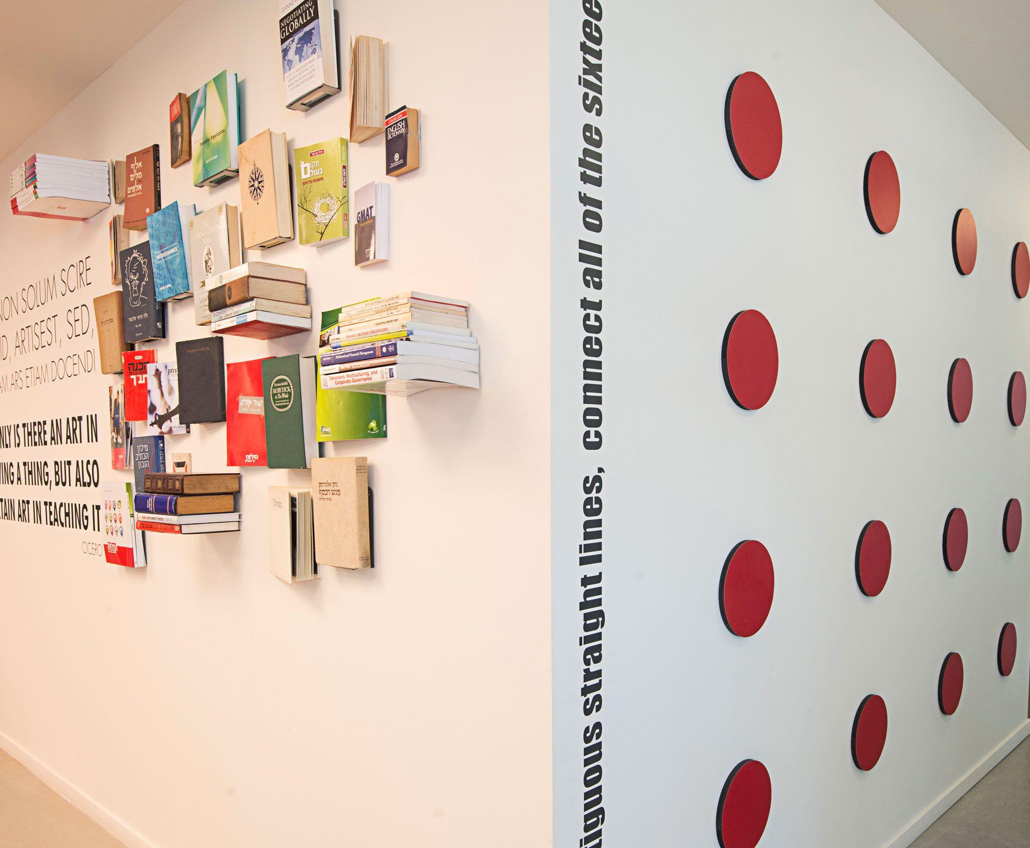 studio Luka -Environmental Graphic Design Kidum Office Design Architecture : Vered Gindi