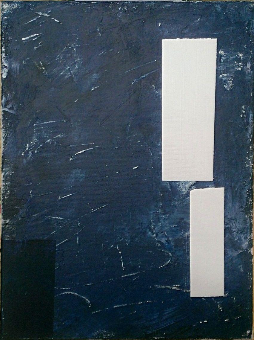 'the chalkboard', acrylic on canvas, 34x45
