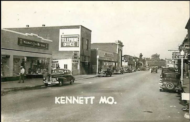 Downtown Streets Of Kennett Kennett Missouri Interesting