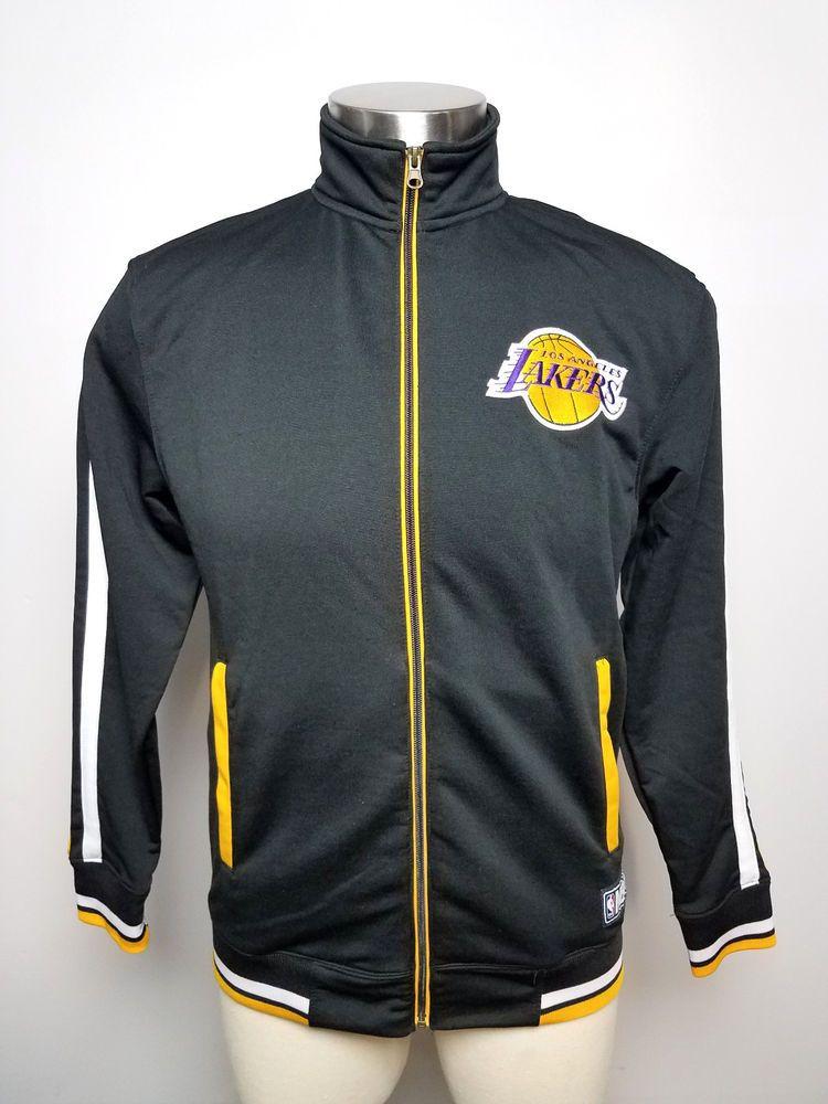 Nba Los Angeles Lakers Men S Warm Up Full Zip Shooting Jersey Black Size S Small Nba Los Angeles Los Angeles Lakers Warmup