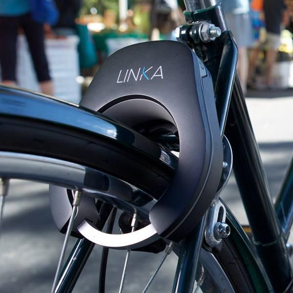 Linka Is The World S First Auto Unlocking Hard Mounted Smart Bike