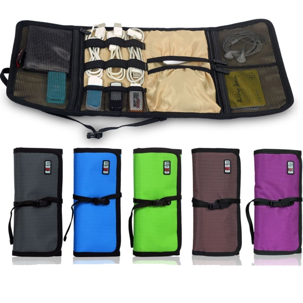 Portable Cable Organizer Bag USB Flash Drive Case Can Put Accessories Carry  Gift | EBay
