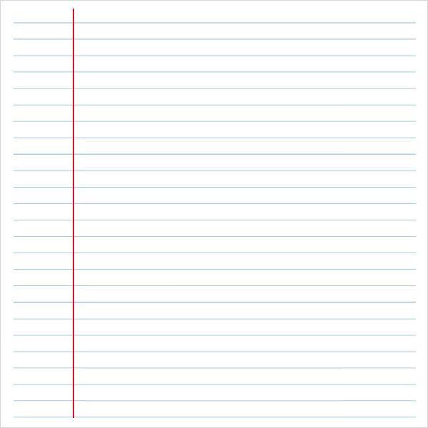 Wide-Ruled-Notebook-Paper-Templatejpg (600×600) macieu0027s - notebook paper template word