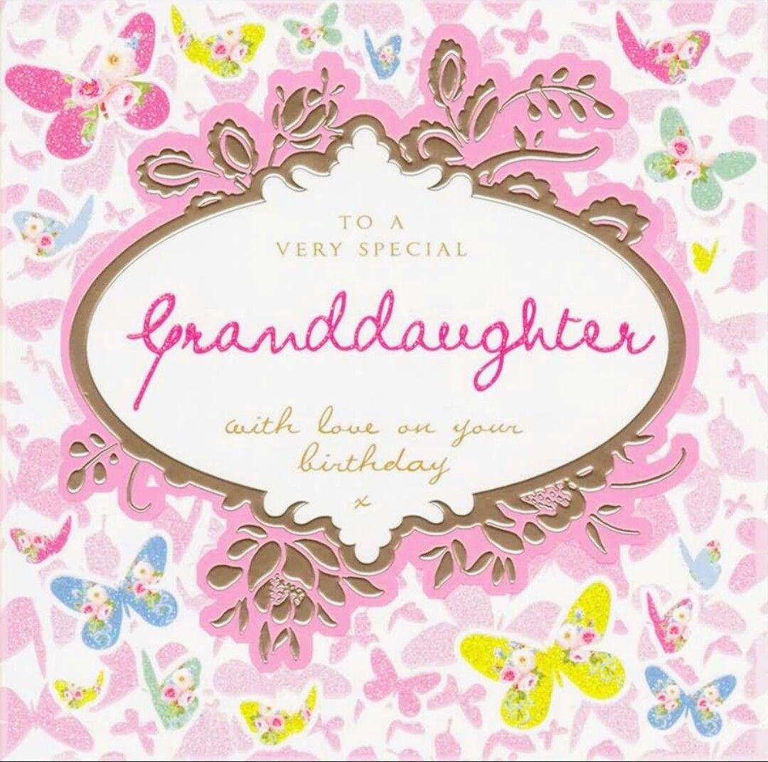 Happy Birthday Granddaughter! ☆♡ Granddaughter birthday