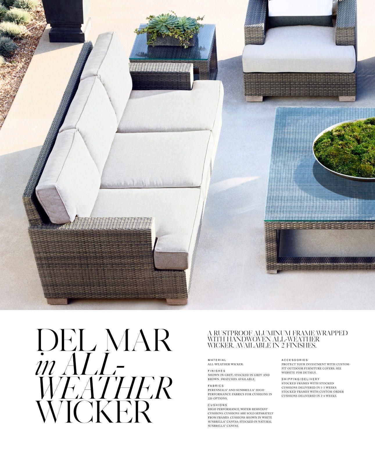 Enjoyable Rh Source Books Sunbrella Pillows Outdoor Furniture Sets Download Free Architecture Designs Scobabritishbridgeorg