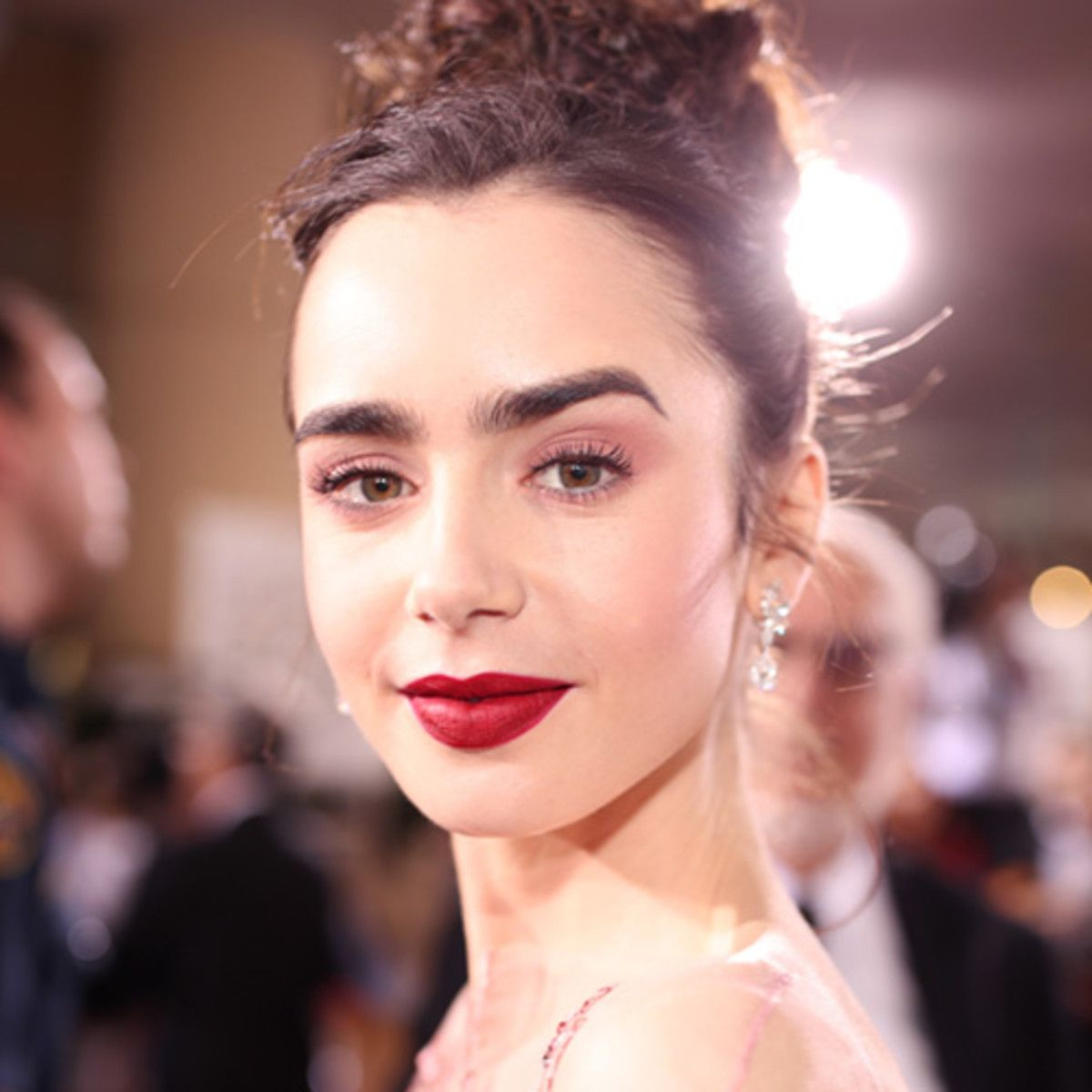 Lily Collins Young British-American Actress and Model