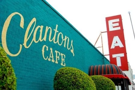 The oldest continually family-owned restaurant on Oklahoma's stretch of Route 66; Clanton's Cafe in Vinita.