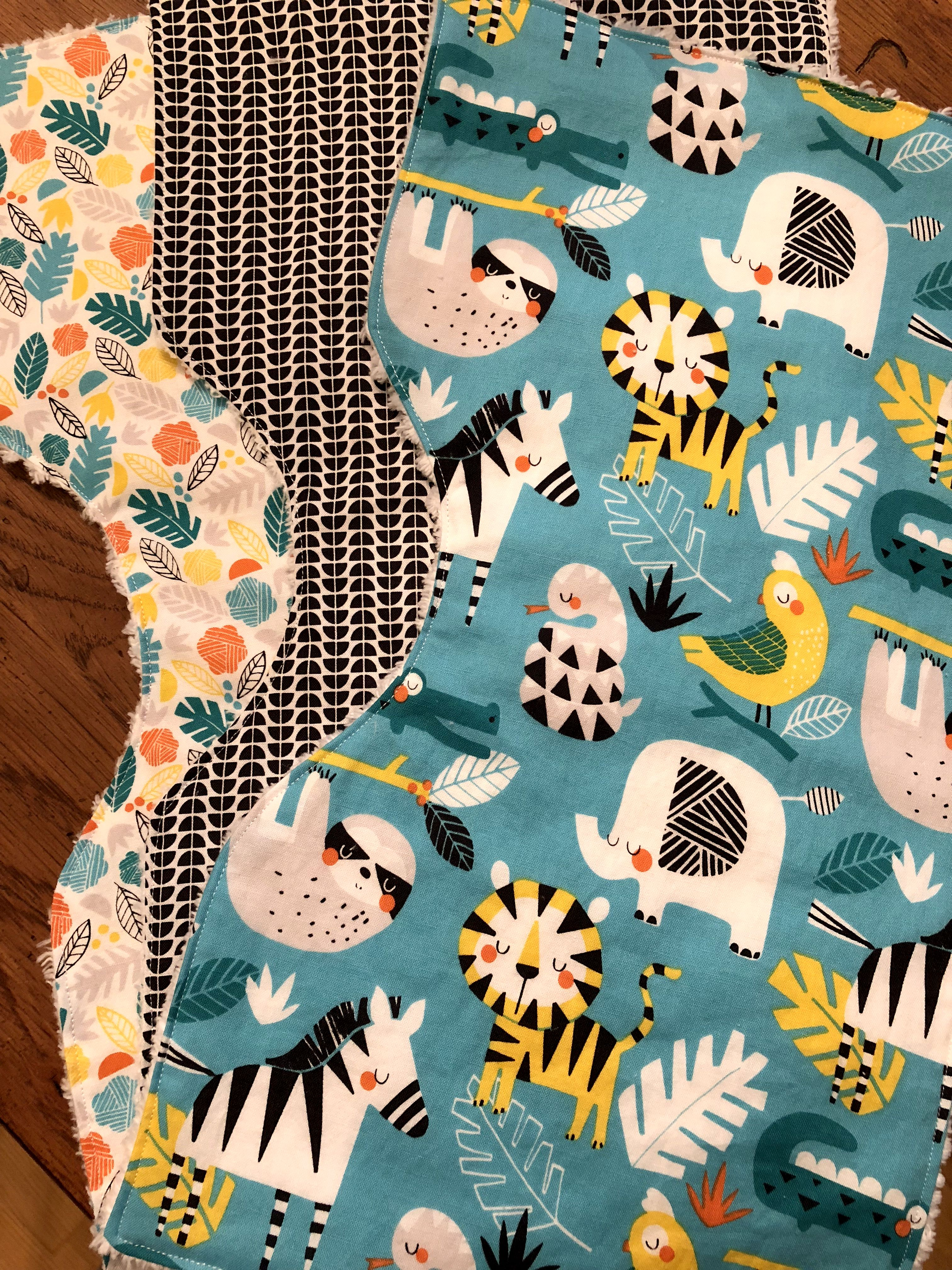 43257886fd08 Baby Burp Cloths, Set of 3, Unisex, Baby Shower Gifts | Brinkmeyer ...