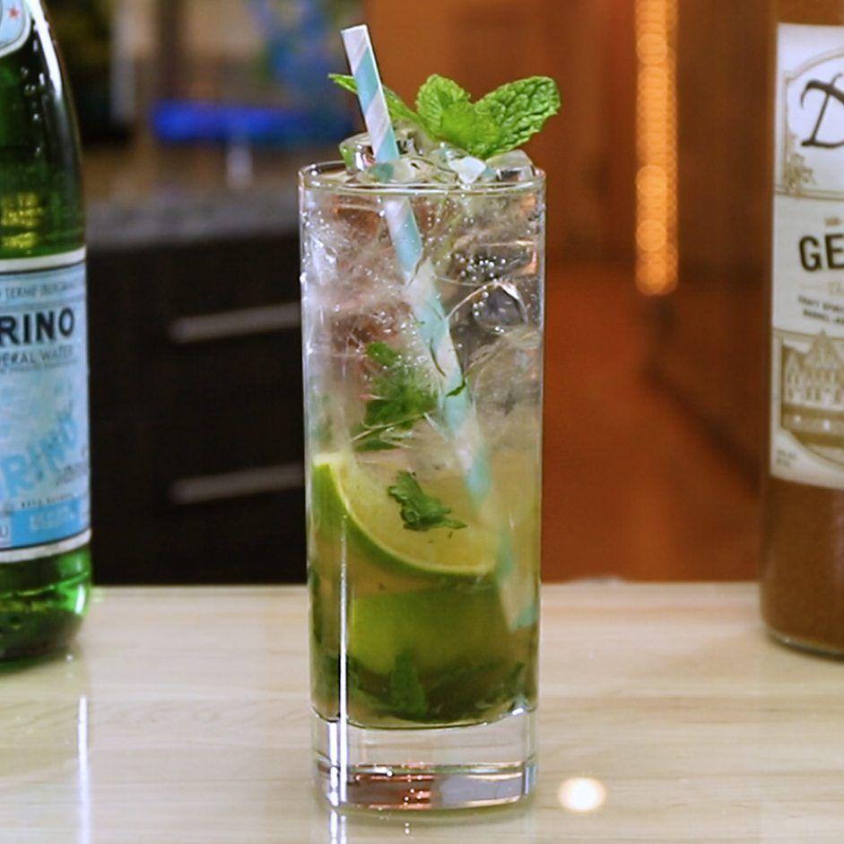Dutch Mojito Tipsy Bartender Recipe Mint Cocktail Recipe Mojito Mojito Recipe