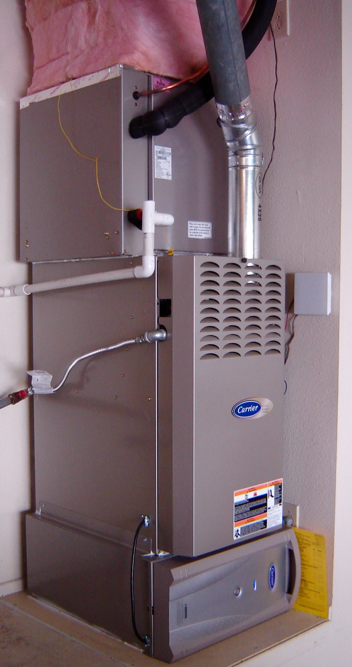 Carrier CTX Furnace with Infinity filter Installations u Repair