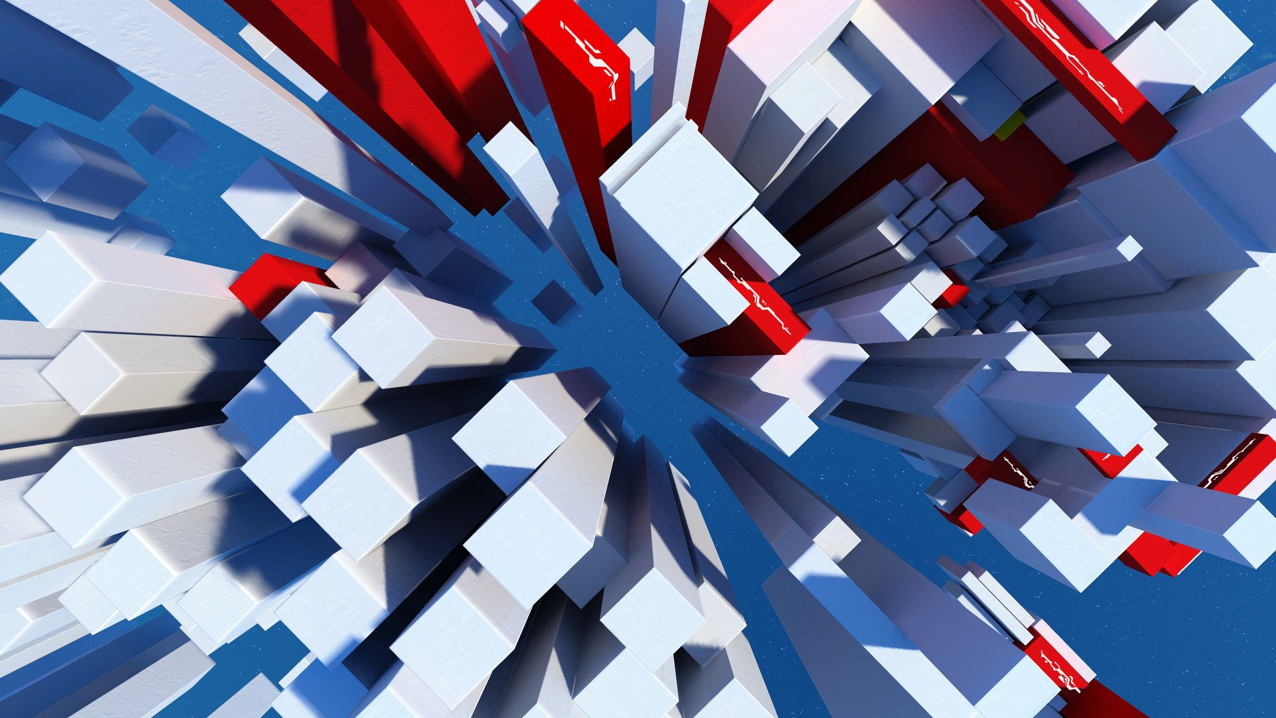 Mirrors Edge Abstract Video Games Wallpaper 2860059 Wallbase